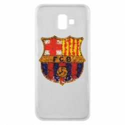 Чохол для Samsung J6 Plus 2018 Barcelona Paint