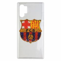 Чохол для Samsung Note 10 Plus Barcelona Paint