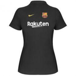 Женская футболка поло Barcelona Racuten