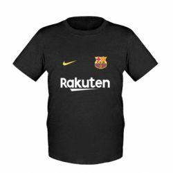 Детская футболка Barcelona Racuten