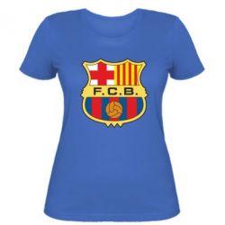 Женская футболка Barcelona - FatLine