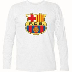 Футболка с длинным рукавом Barcelona - FatLine