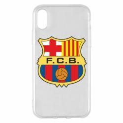 Чохол для iPhone X/Xs Barcelona