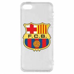 Чохол для iphone 5/5S/SE Barcelona