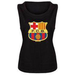 Женская майка Barcelona - FatLine