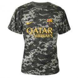 Камуфляжная футболка Барселона - FatLine