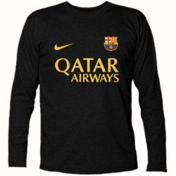 Футболка с длинным рукавом Барселона - FatLine