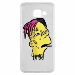 Чехол для Samsung A3 2016 Bart as Lil Peep