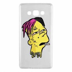 Чехол для Samsung A7 2015 Bart as Lil Peep