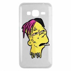 Чехол для Samsung J3 2016 Bart as Lil Peep