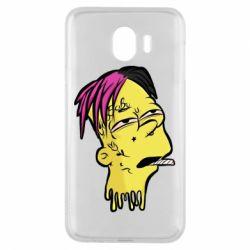 Чехол для Samsung J4 Bart as Lil Peep