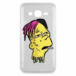 Чехол для Samsung J5 2015 Bart as Lil Peep