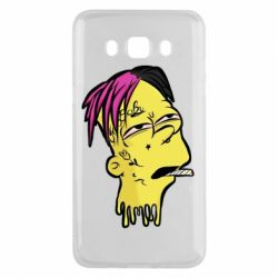 Чехол для Samsung J5 2016 Bart as Lil Peep