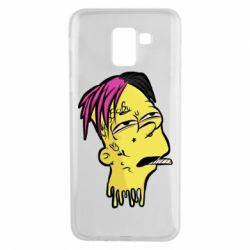 Чехол для Samsung J6 Bart as Lil Peep