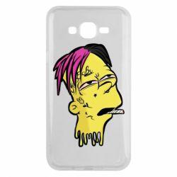 Чехол для Samsung J7 2015 Bart as Lil Peep