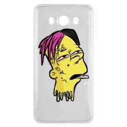 Чехол для Samsung J7 2016 Bart as Lil Peep