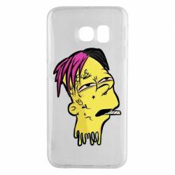 Чехол для Samsung S6 EDGE Bart as Lil Peep