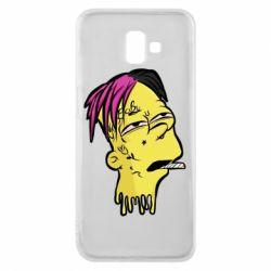 Чехол для Samsung J6 Plus 2018 Bart as Lil Peep
