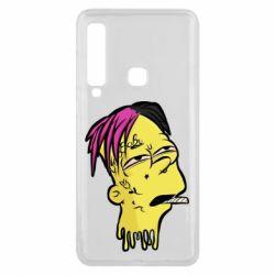Чехол для Samsung A9 2018 Bart as Lil Peep