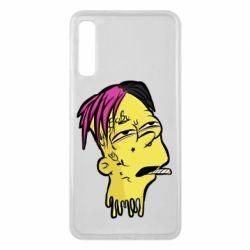 Чехол для Samsung A7 2018 Bart as Lil Peep