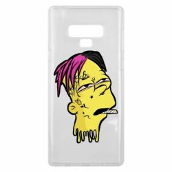 Чехол для Samsung Note 9 Bart as Lil Peep