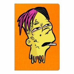 Блокнот А5 Bart as Lil Peep
