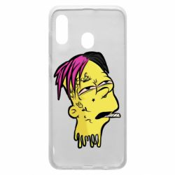 Чехол для Samsung A30 Bart as Lil Peep