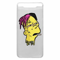 Чехол для Samsung A80 Bart as Lil Peep