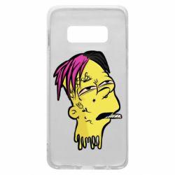 Чехол для Samsung S10e Bart as Lil Peep