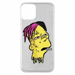 Чехол для iPhone 11 Bart as Lil Peep
