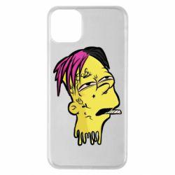 Чехол для iPhone 11 Pro Max Bart as Lil Peep