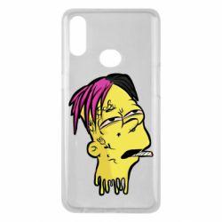 Чехол для Samsung A10s Bart as Lil Peep