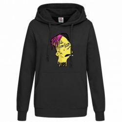 Женская толстовка Bart as Lil Peep