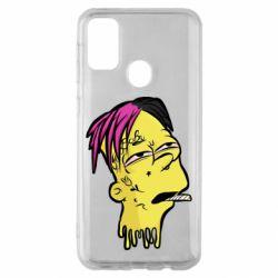Чехол для Samsung M30s Bart as Lil Peep