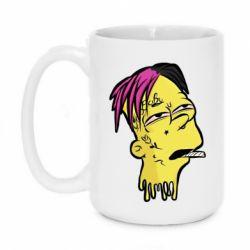Кружка 420ml Bart as Lil Peep
