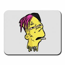 Коврик для мыши Bart as Lil Peep