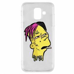 Чехол для Samsung A6 2018 Bart as Lil Peep