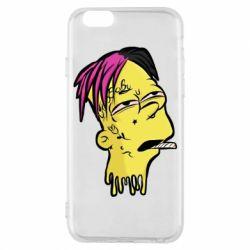 Чехол для iPhone 6/6S Bart as Lil Peep