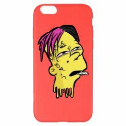 Чехол для iPhone 6 Plus/6S Plus Bart as Lil Peep