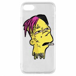 Чехол для iPhone 7 Bart as Lil Peep