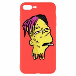 Чехол для iPhone 7 Plus Bart as Lil Peep