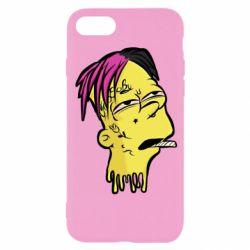 Чехол для iPhone 8 Bart as Lil Peep