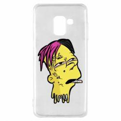 Чехол для Samsung A8 2018 Bart as Lil Peep