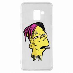 Чехол для Samsung A8+ 2018 Bart as Lil Peep