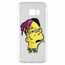 Чехол для Samsung S7 EDGE Bart as Lil Peep