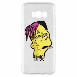 Чехол для Samsung S8 Bart as Lil Peep