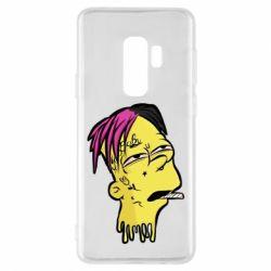 Чехол для Samsung S9+ Bart as Lil Peep
