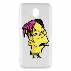 Чехол для Samsung J5 2017 Bart as Lil Peep