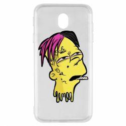 Чехол для Samsung J7 2017 Bart as Lil Peep