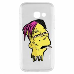 Чехол для Samsung A3 2017 Bart as Lil Peep